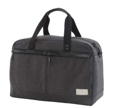 Hex Monarch Collection Overnight Duffel - Charcoal Tweed - HX1611-CHAR by HEX