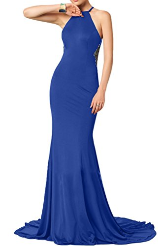 Missdressy - Vestido - Escotado por detrás - para mujer azul real