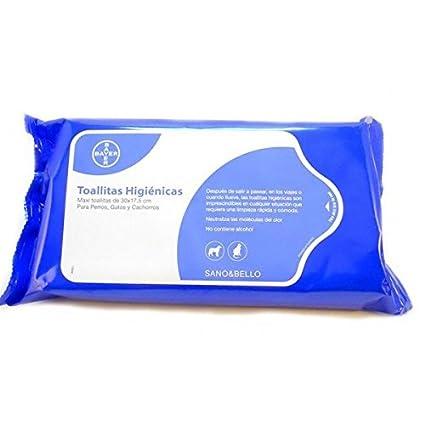Bayer Sano & Bello Pack de 35 Toallitas Limpiadoras - 1 Pack de Toallitas
