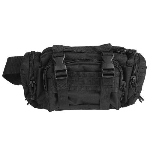 """G8DS® Gürteltasche Hüfttasche """" Mod System"""" Schwarz"""