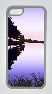 Iphone 5C TPU Supple Shell Case Beautiful Scenery Transparent Skin by Sallylotus