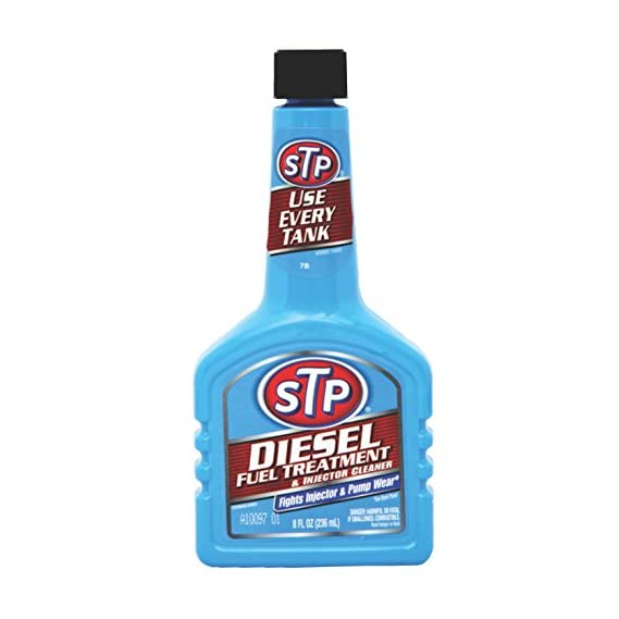 STP Diesel Fuel Treatment and Injector Cleaner (236 ml, 2 Pieces) (DFT2)