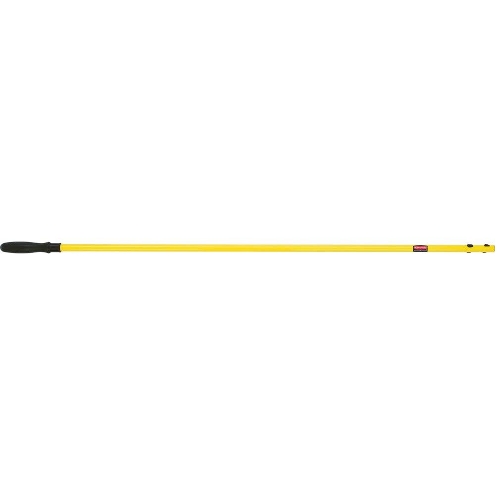 color amarillo 6-12 1 Rubbermaid fgq74500yl00/HYGEN Conexion mango corto extensible para mopa