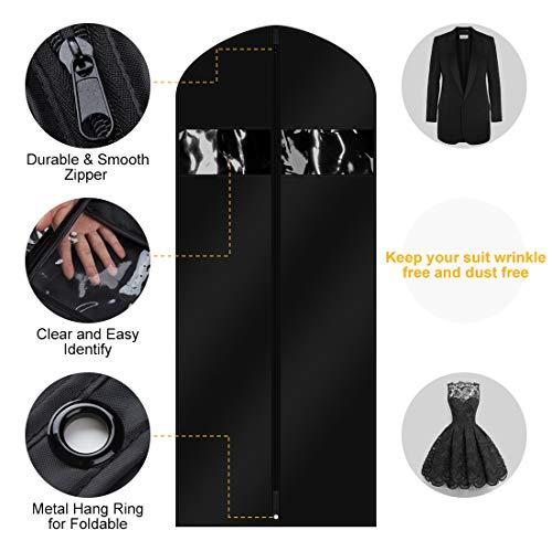 160b1452df41 SHOPUS | FCNEHLM Garment Bags Suit Travel Bag for Men & Women ...
