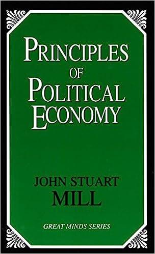 Principles Of Political Economy Great Minds John Stuart