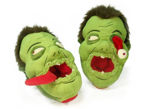 Toy Vault Zombies Afoot Plush Slippers