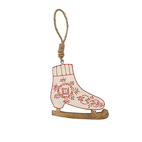 Nordic Skate Ornament (Victorian Skates Ornament)