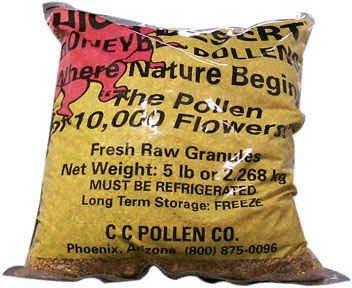 Cheap C C Pollen Bee Pollen Granules Bulk — 5 lbs