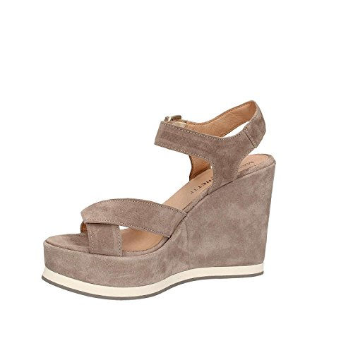 Maritan 660188 Wedge Sandals Women Grey TulQoJHvc