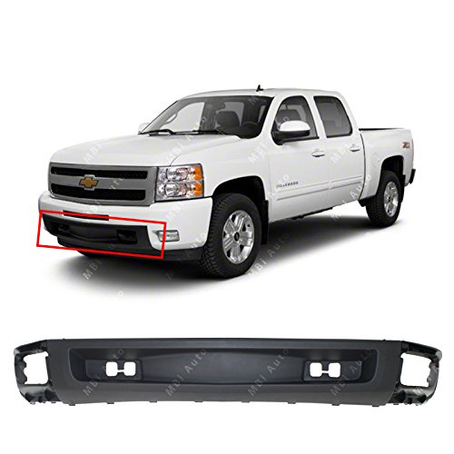 MBI AUTO - Textured, Black Lower Front Bumper Air Deflector Valance for 2007-2013 Chevy Silverado 1500 Pickup, GM1092192