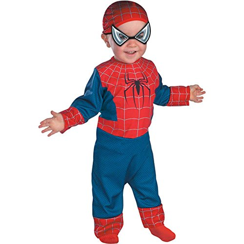 Spiderman Deluxe Infant Costume 3-12 Months by Disguise Costumes ()