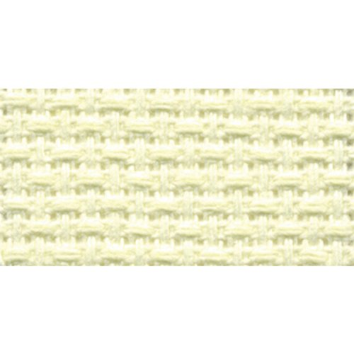 DMC TC8436-4290 Silver Label Aida Cloth with Soft Tube, Ivory, 15 by 18-Inch, 14-Pack