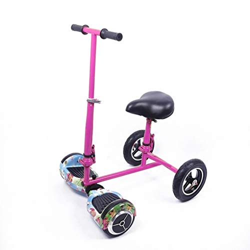 GEM SUPPLIES Kart para Scooter electrico, Asiento para Smart Balance 6,5 Pulgadas. Aplique para Patin electrico.