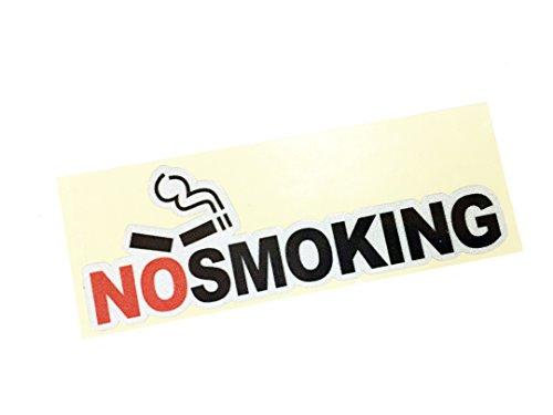 Dian Bin-BM30602 No Smoking Red KK Car Sticker Vehicle-logo Badge Emblem