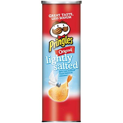 Pringles Lightly Salted Original Potato Crisps, 5.2 oz (Potato Lightly Salted Chips)