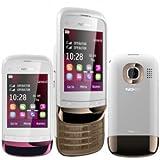 Nokia C2-03 White Touchscreen Dual SIM Unlocked DualBand Cell Phone