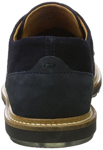 Bianco Wave Jfm17, Zapatos de Cordones Derby para Hombre Azul (Navy Blue)