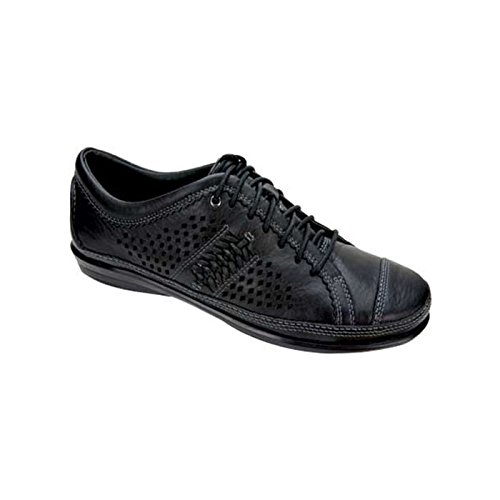 Aetrex Women's Diana Oxford,Black,11 W (Aetrex Black Oxford)