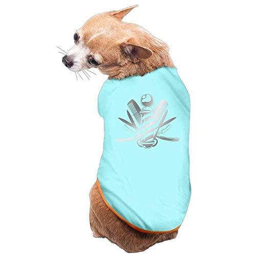 Avagea Dog Clothes, Coat, Costume,Sweater, Vest, Dog Cat Pet Shirt Clothes Puppy Vest Soft Thin Barber Haircut 3 Sizes 4 Colors -