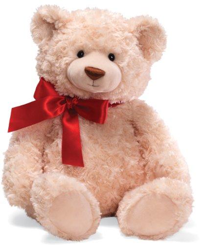"Gund Christmas Brody with Red Ribbon 20"" Plush"