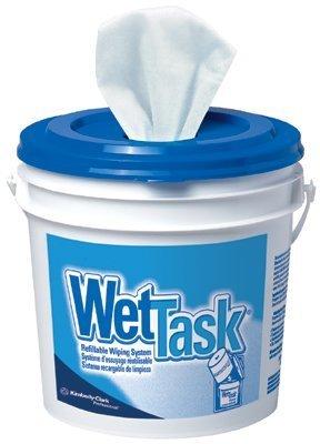Kimberly-Clark Professional 412-06001 Wet Task Wiper 12X12.5 60-Roll Wht ()