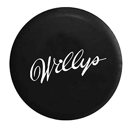Jeep-Wrangler-Willys-Classic-Throwback-Spare-Tire-Cover-OEM-Vinyl