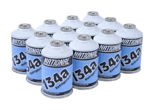 NATIONAL R134a Refrigerant, 12 oz. (12 Cans Pack)