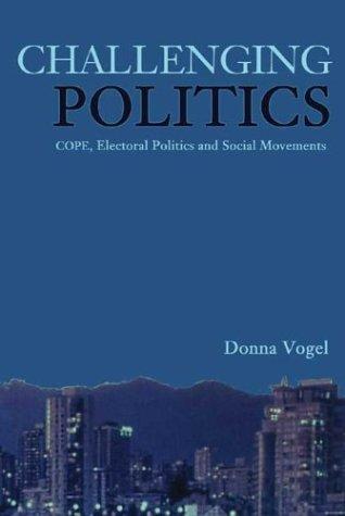 Download Challenging Politics: COPE, Electoral Politics and New Social Movements pdf epub