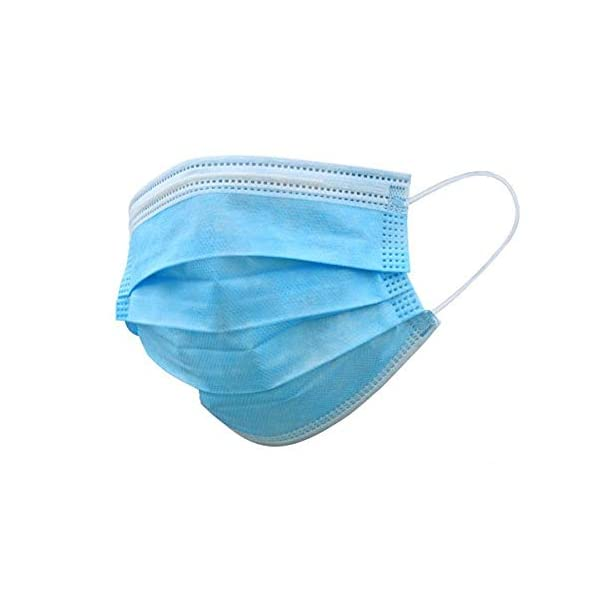 Sansin-Surgical-Masks-50-Disposable-Face-Masks-3-Ply-Surgical-Grade-Material-3-Layer-Protection-Ear-Loops-Allergy-Free-Wear-a-Mask-and-Be-Safer-Ideal-Bacteria-Protection