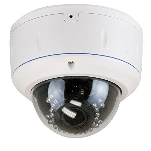 GW Security 2.1MP 1080p 4-in-1 HD TVI / AHD / CVI / 960H 1200TVL CCTV Outdoor Dome Security Camera, 2.8-12 mm Varifocal Zoom Lens
