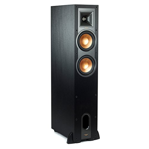 Klipsch R-26FA Dolby Atmos Floorstanding Speaker - Each (Black) by Klipsch