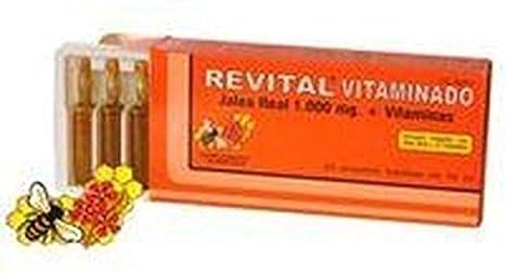 Revital Vitaminado 20 ampollas de Pharma Otc: Amazon.es: Salud y cuidado personal