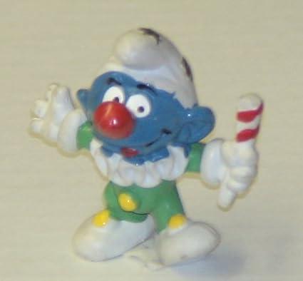 Amazon Com Vintage Smurfs Pvc Figure Smurf Clown Toys Games