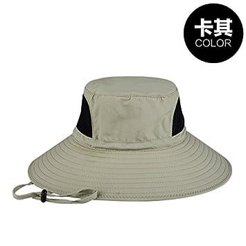 HGTYU-Grandes Aleros Sombreros Gorras de Pescadores al Aire Libre ...