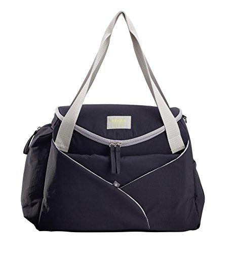 "Beaba Sydney II - Bolsa de viaje ""Play Print"", color azul Negro"