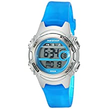 Timex Women's 'Marathon' Quartz Resin Running Watch, Color:Blue (Model: TW5K96900M6)