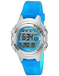 Timex Women's 'Marathon' Quartz Resin Running Watch, Color:Blue (Model: TW5K96900M6)