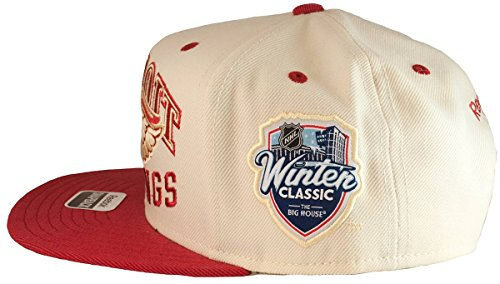 Detroit Red Wings 2014 Winter Classic Snapback Hat