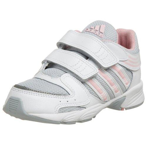adidas Infant/Toddler HyperRun III CF Sneaker,Light Grey/Diva/Running White,2 W US Infant