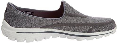 Skechers 13955 - Super Sock - Zapatillas de Deporte, Mujer Gris (Charcoal)