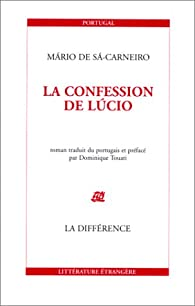 La Confession de Lucio par Mário de Sá-Carneiro