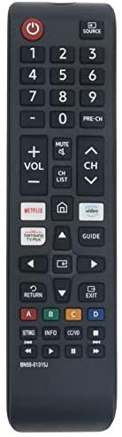 BN59-01315J Replace Remote Applicable for Samsung TV UN43TU7000F UN50TU7000F UN55TU7000F UN58TU7000F UN58TU700DF UN65TU7000F UN65TU700DF UN70TU7000F UN70TU700DF UN75TU7000F UN75TU700DF UN43TU7000FXZA