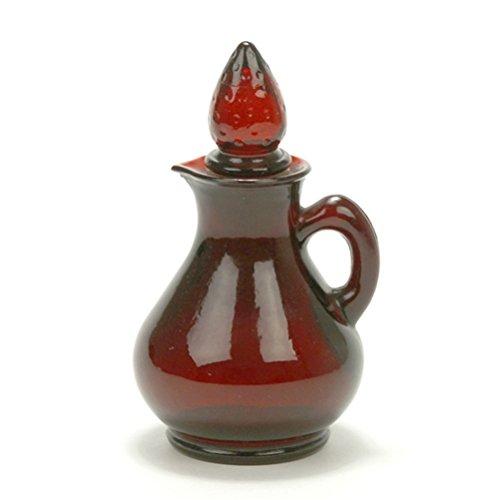 Royal Ruby by Anchor Hocking, Glass Cruet, Avon