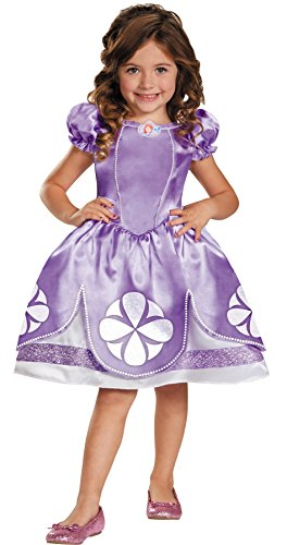 UHC Disney Girl's Sofia The First Toddler Princess Dress Child Halloween Costume, 2T -