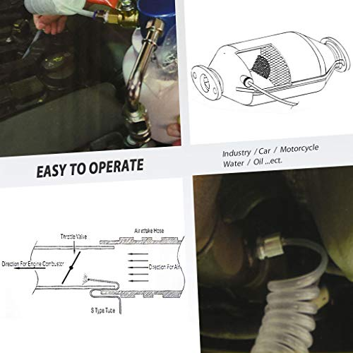 FIRSTINFO 3 in 1 Air/Pneumatic Engine Intake System Carbon Washing Kit Engine Combustor System by FIRSTINFO TOOLS FIT YOUR NEEDS (Image #3)