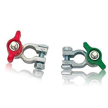 Vert Rouge +//- Cosse de batterie robinet coupe batterie /à papillon