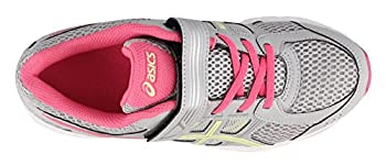 Asics Unisex-child Pre-contend 4 Ps Shoes, Size: 12 M Us Little Kid, Color Mid Greylimelighthot Pink 1