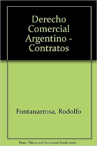 DERECHO COMMERCIAL FONTANARROSA PDF