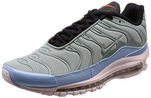 Nike Air Max 97 Plus, Scarpe da Ginnastica Uomo Multicolore (Mica Green/Leche Blue/Black/Barely Rose 300)