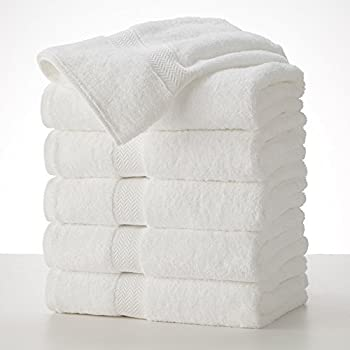 Amazon Com Grandeur Hospitality Bath Towels 6 Pack 30inx52in 100